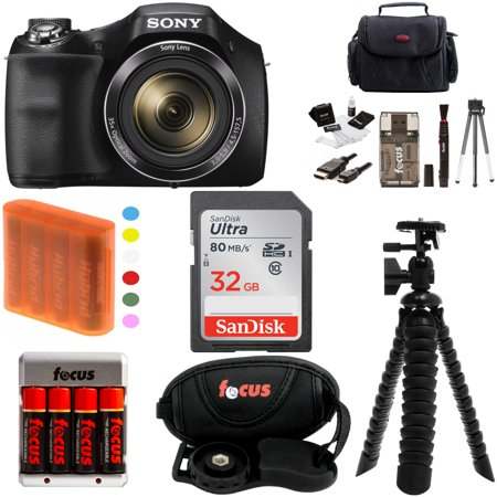 Cyber Shot Advanced Accessory - Sony Cyber-Shot H300 Digital Camera with 32GB SDHC Accessory Bundle