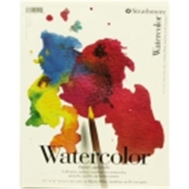 Strathmore 200 Tape Binding Light-Weight Student Grade Watercolor Pad - 11 x 15 in. - 15 Sheets
