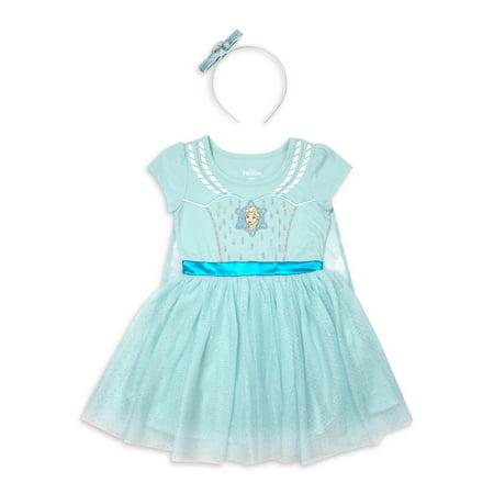 Cheap Frozen Dresses (Disney Frozen Elsa Toddler Girl Costume Tutu Dress with)