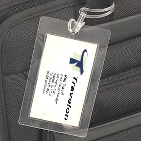Travelon ~ Set of 3 Laminating Luggage Tags