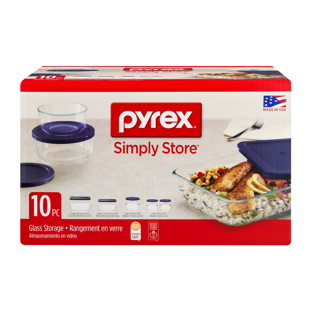 Pyrex Simply Store - 10 PC, 10.0 PIECE(S)