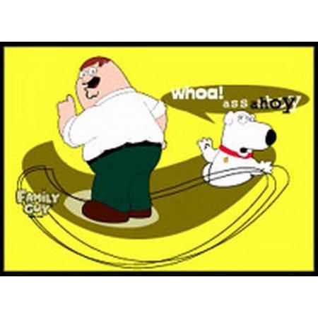 Asst Magnets - Family Guy Ass Ahoy Magnet FM1455