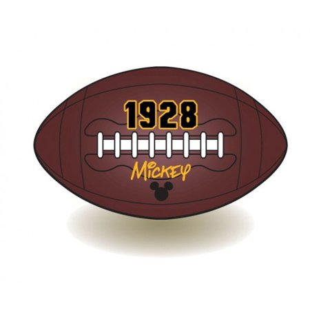- magnet - disney - mickey mouse rugby ball  new toys licensed 85176