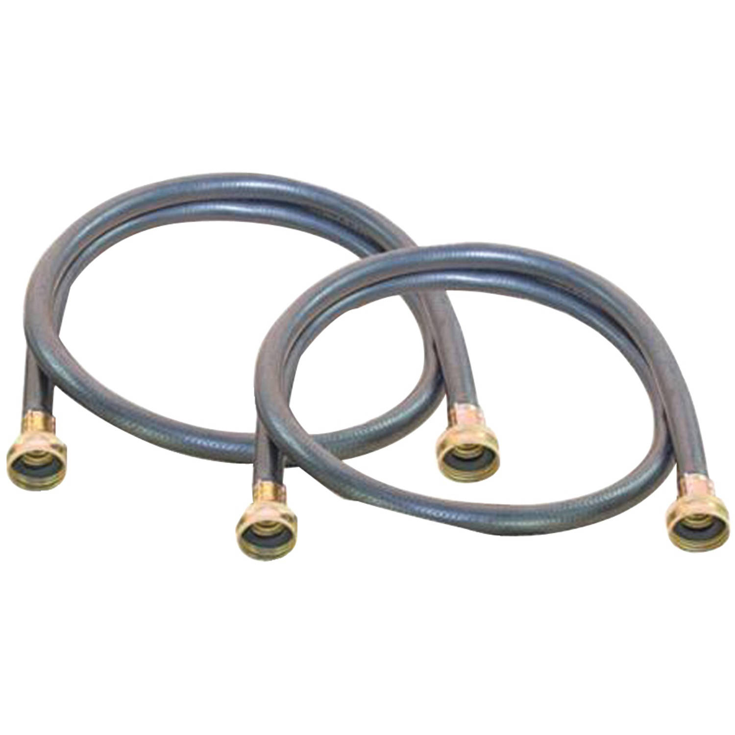 Certified Appliance Wm60br2pk Black Washing Machine Hoses, 2pk (5')