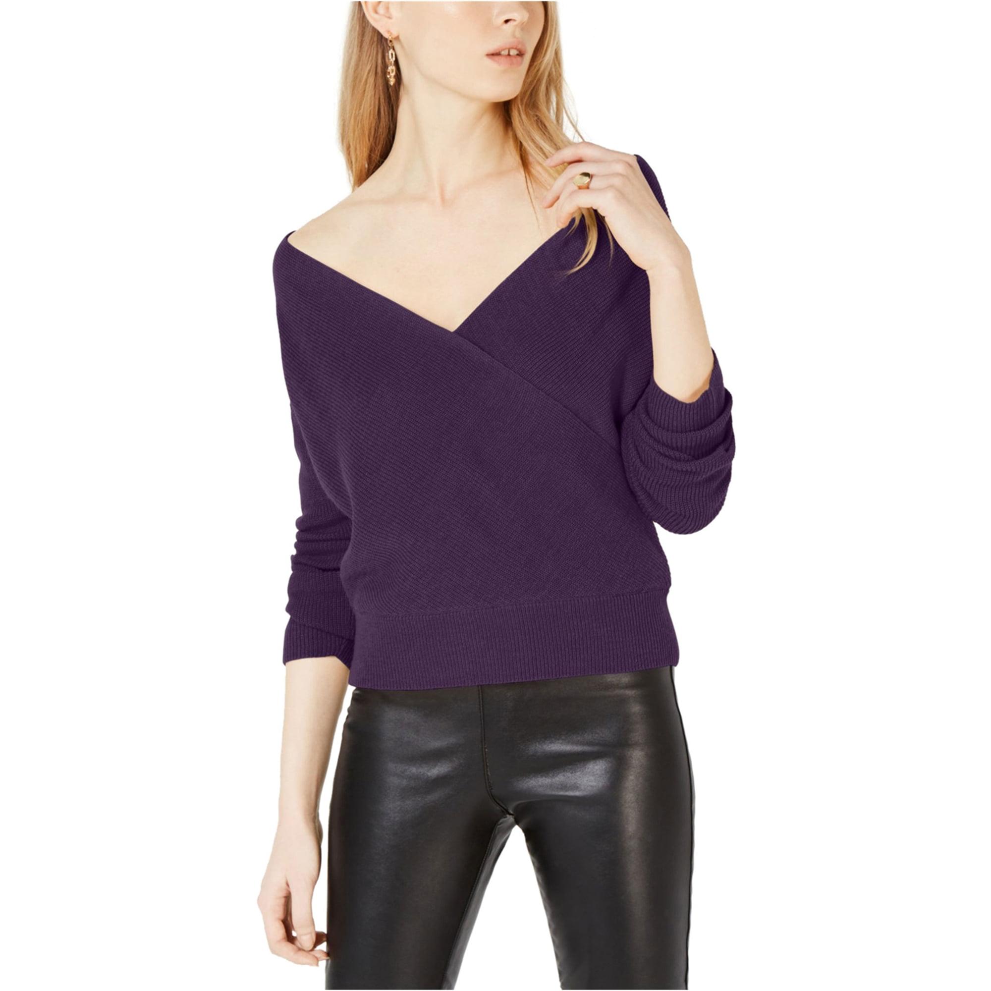 Bar III  Surplice Neck On//Off Shoulder Sweater