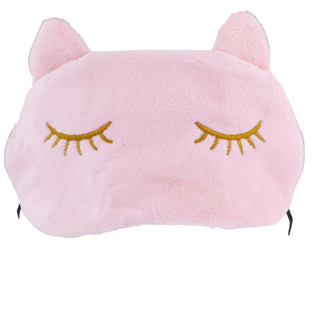 Kitty Cat Mask (Lux Accessories Cat Kitten Kitty Cat Ears Emoji Kitschy Teen Sleeping)