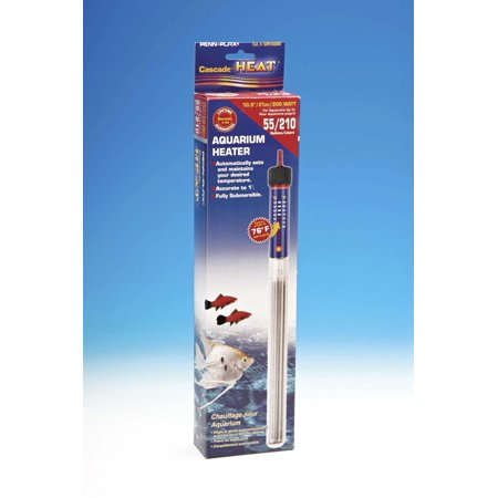 Penn Plax Fully Submersible Aquarium Heater, 200-Watt