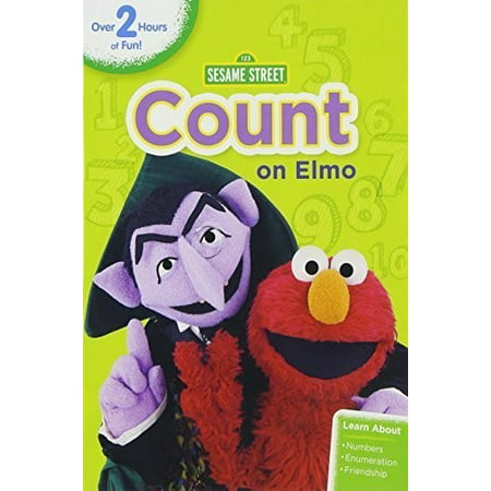 Sesame Street: Count on Elmo (DVD) - Sesame Street Count