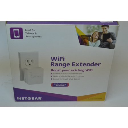 New In Box Netgear N150 Wi Fi Range Extender Booster Wall Plug Version Wn1000rp
