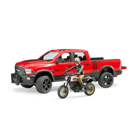 Dodge 2500 Power Wagon (RAM 2500 Power Wagon w Ducati Scrambler Desert Sled )