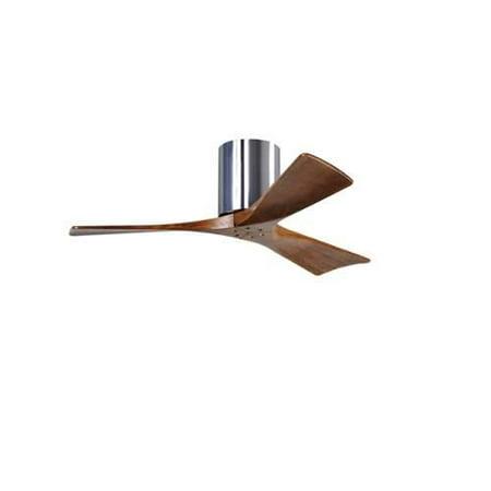"""Matthews Fan Company IR3H-CR-52 Irene 52"""" 3 Blade Hugger Ceiling Fan with Revers"""