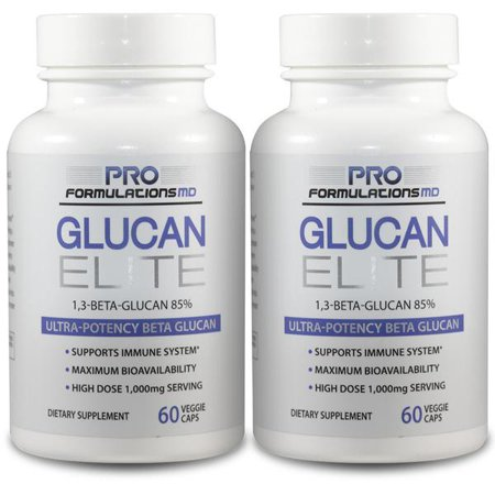 Digest Active 120 Cap (Glucan Elite – 85% Beta 1,3D Glucan 500mg | 85% Minimum Active 1,3 Linkage Ultra-Potency Beta Glucan – Highest Bioavailability with BGF-Immune | Pack of 2 (120 total veggie caps) )