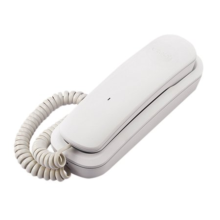 CD1103W Corded Phone, White, 1 Handset, Receiver and Ringer Volume Control By VTech ()