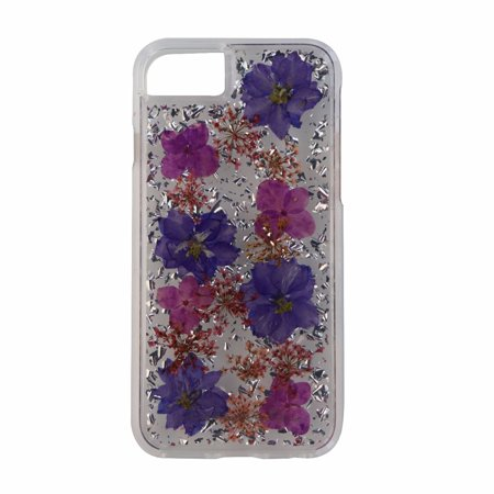 Case-Mate Karat Petals Series Case Cover for iPhone 7 6s s - Purple Flowers (Refurbished)