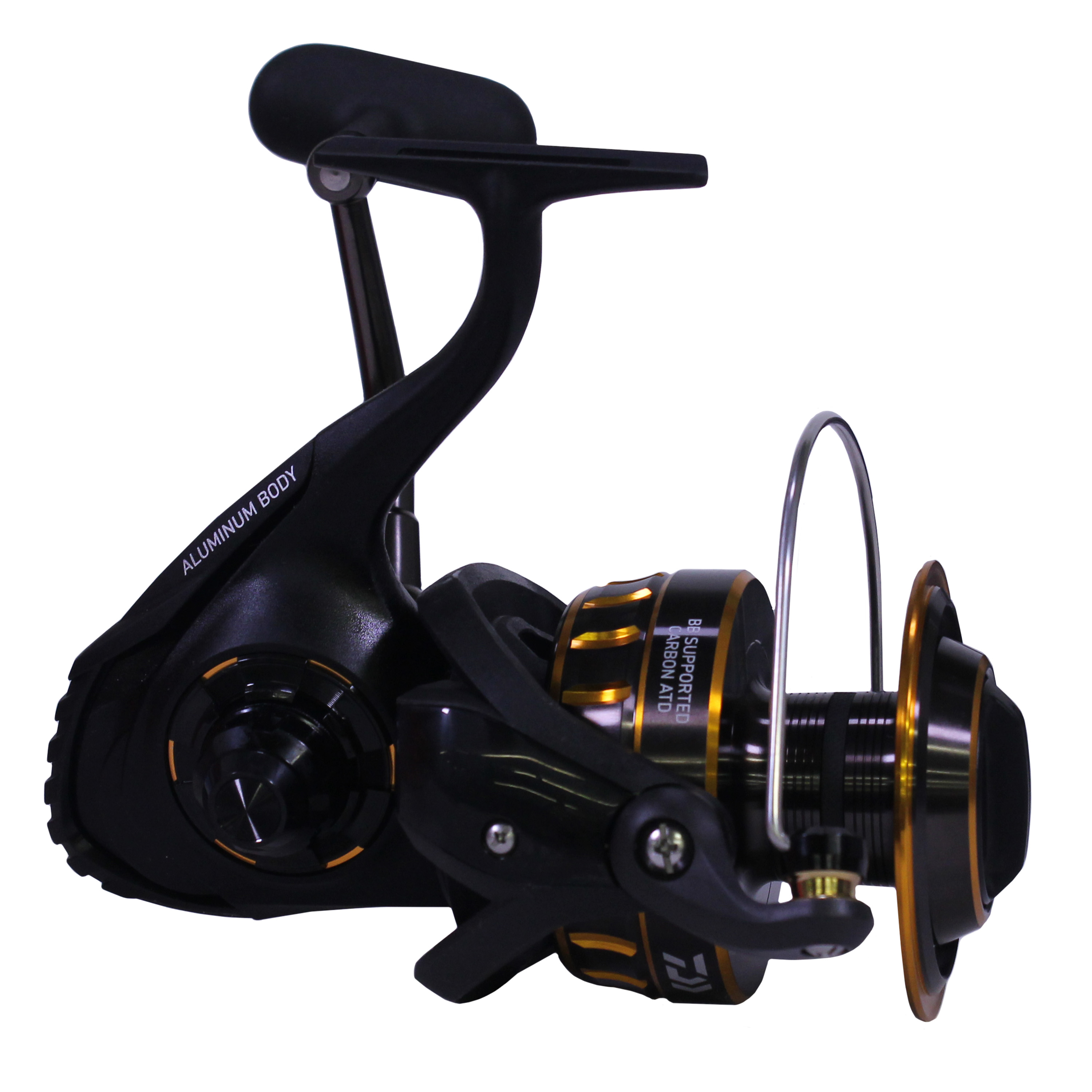 "Daiwa BG Saltwater Spinning Reel 8000, 5.3:1 Gear Ratio, 6+1 Bearings, 53.30"" Retrieve Rate, 33 lb Max Drag"