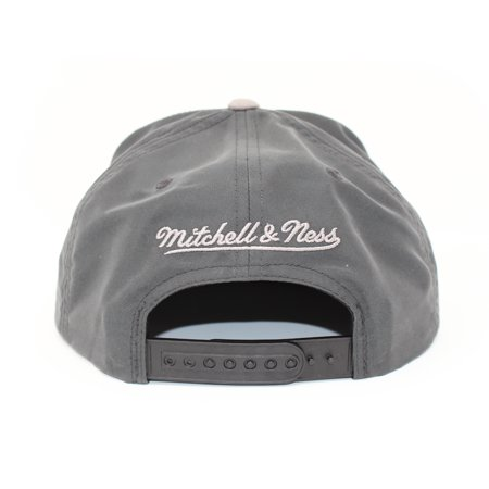 Mitchell and Ness Toronto Raptors Buttery Melange Grey Snapback Hat - image 3 of 5
