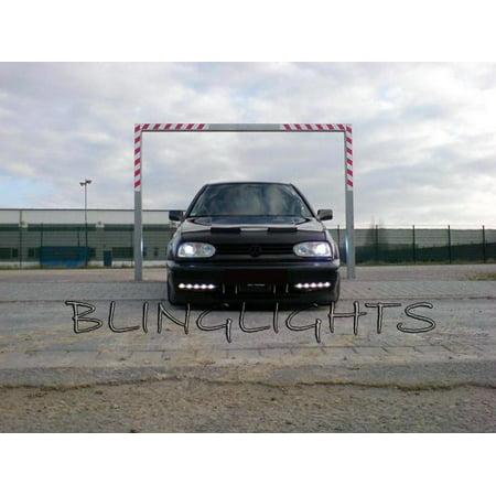 - 1991 1992 1993 1994 1995 1996 1997 1998 1999 Volkswagen VW Golf Mk3 LED DRL Strips DRLs Lights Lamps