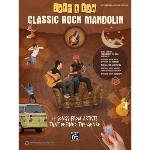Classic Rock Mandolin: 12 Songs from Artists That Defined the Genre; Easy Mandolin Tab... by