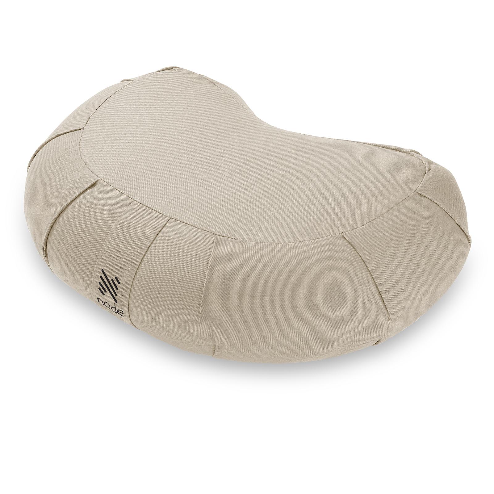 Node Fitness Organic Cotton 17 Crescent Meditation Cushion