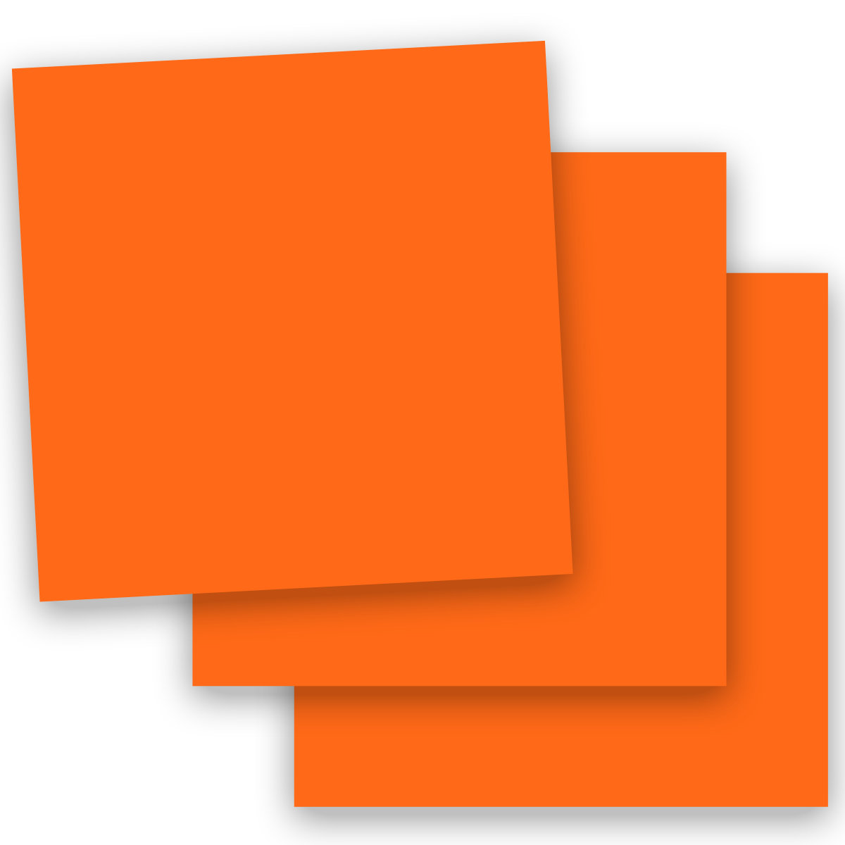 skin smooth orange 12x12 square paper 100c cardstock