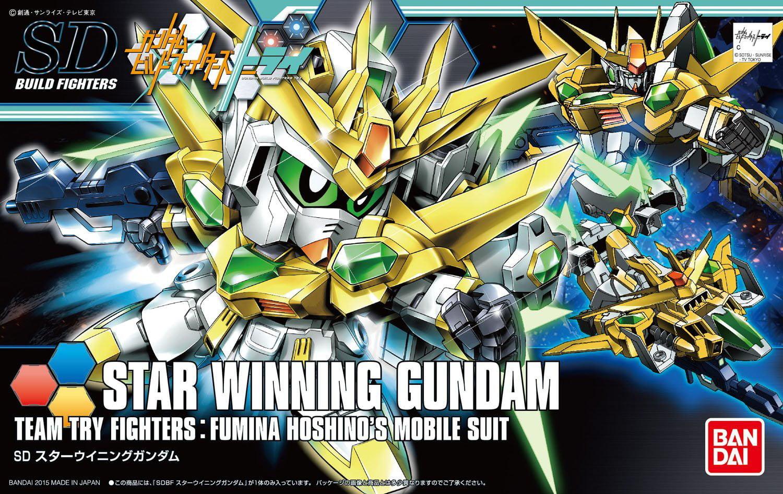 Bandai Hobby Gundam Build Fighters Try Star Winning Gundam SD Model Kit by Bandai Hobby