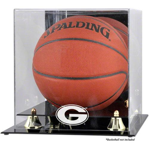 NCAA - Georgia Bulldogs Golden Classic Logo Basketball Display Case