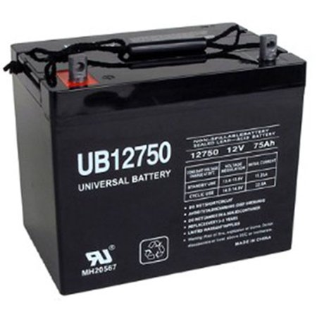 UB12750 45821 12V 75AH Grp 24 Battery Scooter Wheelchair Mobility Deep Cycle 24 Deep Return