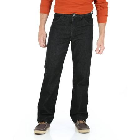 Wrangler Men's Regular Fit Straight Leg Stretch Jeans
