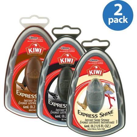 Kiwi Express Shine Sponge Your Choice 2 Pack Value Bundle
