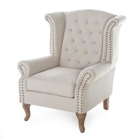 Belham Living Tatum Tufted Arm Chair with Nailheads