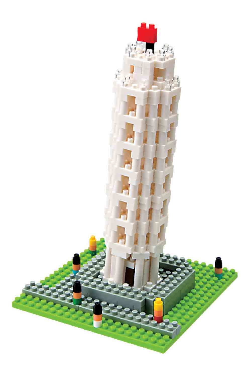 Nanoblock Sites to See Tower of Pisa by Schylling