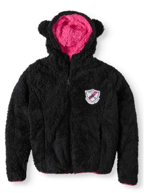 Beverly Hills Polo Club Fluffy Fleece Hoodie With 3D Ears (Little Girls & Big Girls)