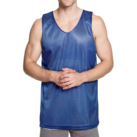 Ma Croix Men's Reversible Basketball Jersey Premium Moisture Wicking Mesh Tank Top Trojans Mens Basketball