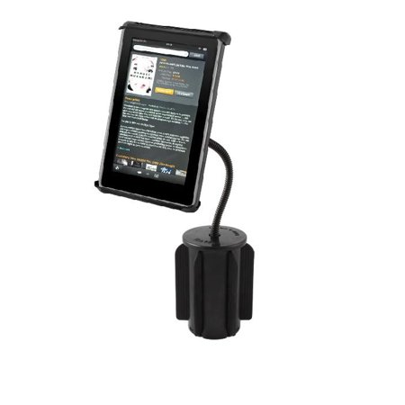 New Rugged Car Suv Truck Cup Holder Mount For Small Tablets Amazon Kindle Fire