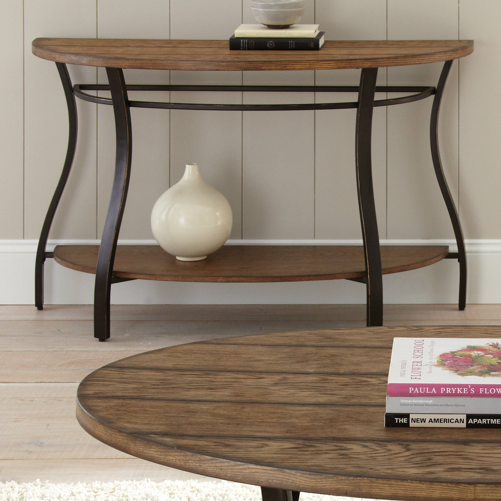 Steve Silver Denise Sofa Table - Light Oak