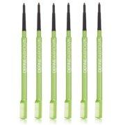 Maybelline Define-A-Brow Eyebrow Pencil,#643 Medium Brown (Pack of 6)