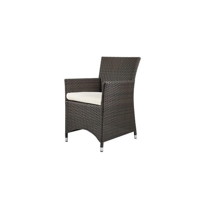 Source Outdoor SO-2003-163-ESP St Tropez Dining Armchair in Espresso by Source Outdoor