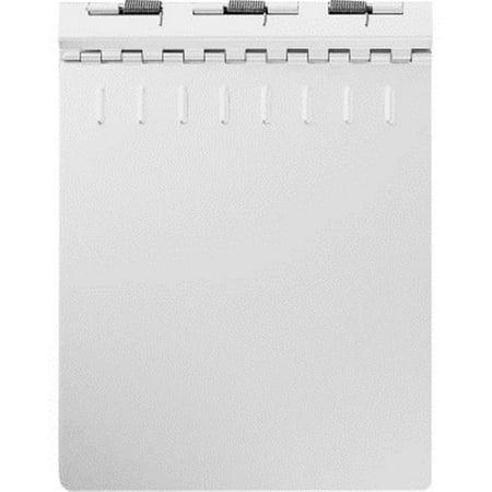 AbilityOne 2866954 7510002866954 0.5 in. Capacity Aluminum Clipboard Binder, Silver