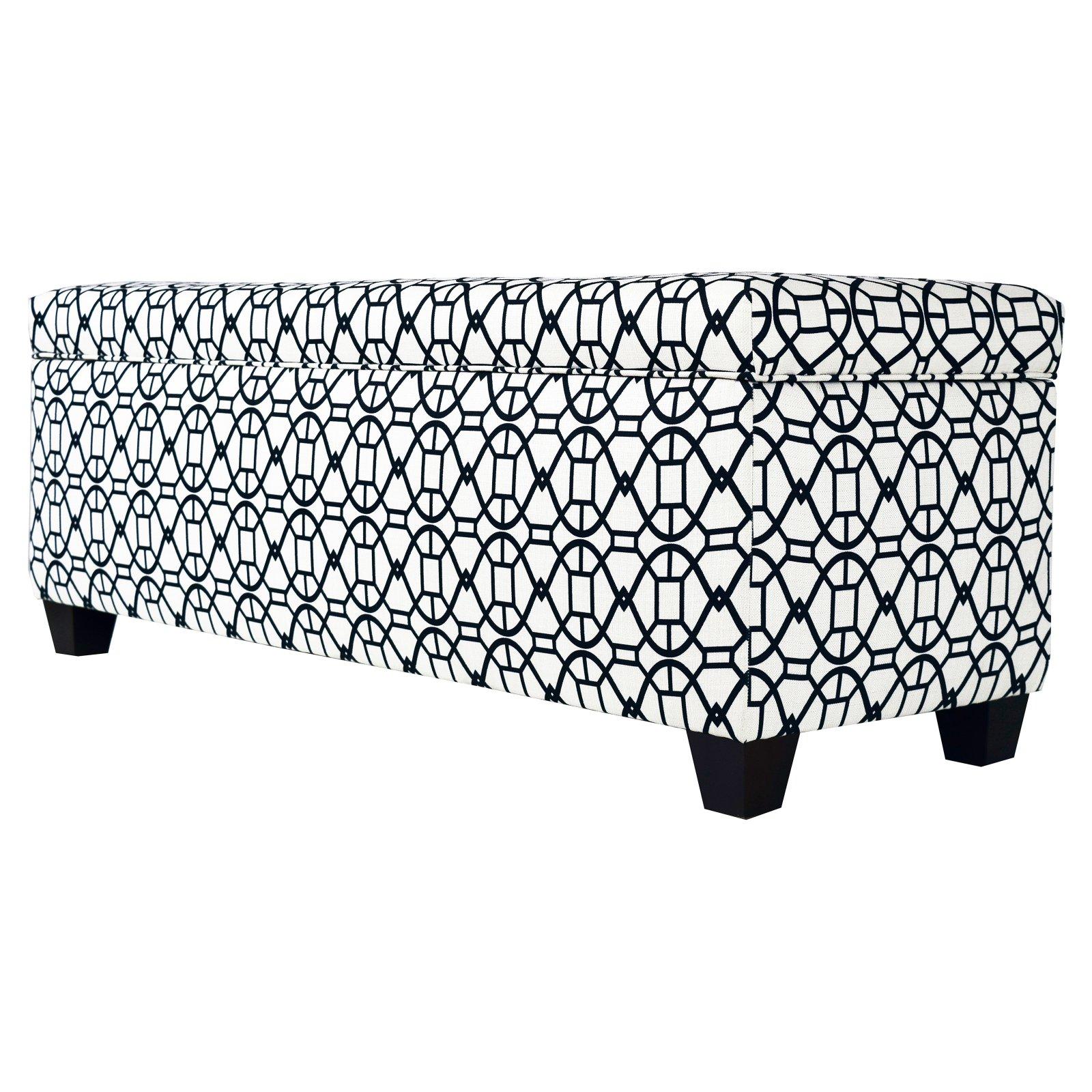 MJL Designs Sole Secret Noah Large Storage Bench