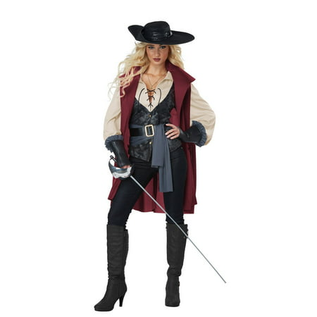 Lady Musketeer Women's Halloween Costume