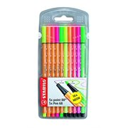 Stabilo Point 68 And 88 Neon Set Of 10