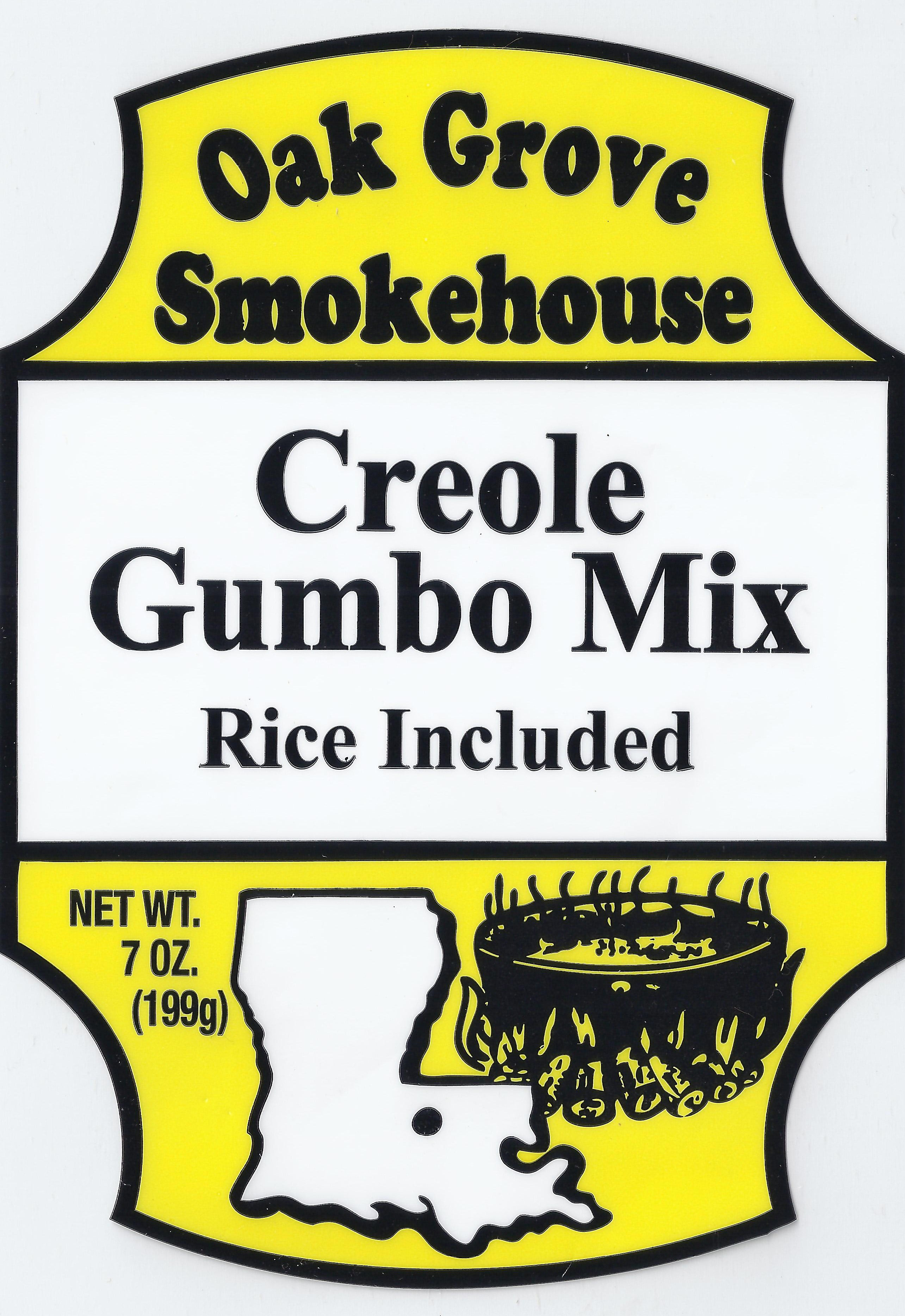 7 oz. Creole Gumbo Mix Rice Included by Oak Grove Smokehouse, Inc.