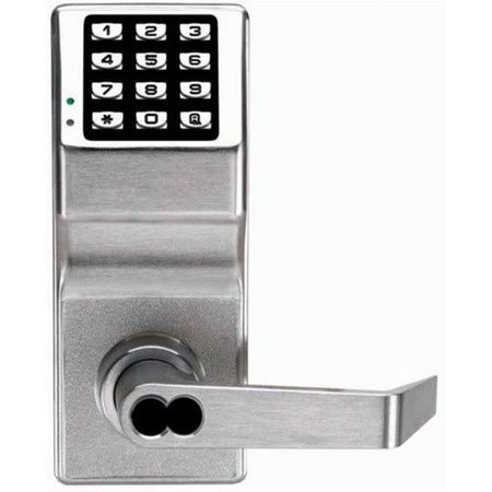 Alarm Lock DL2700IC Trilogy 100 User Grade 1 Electronic Digital Keypad Lever Set- Less Core for Best, Falcon, Arrow, and