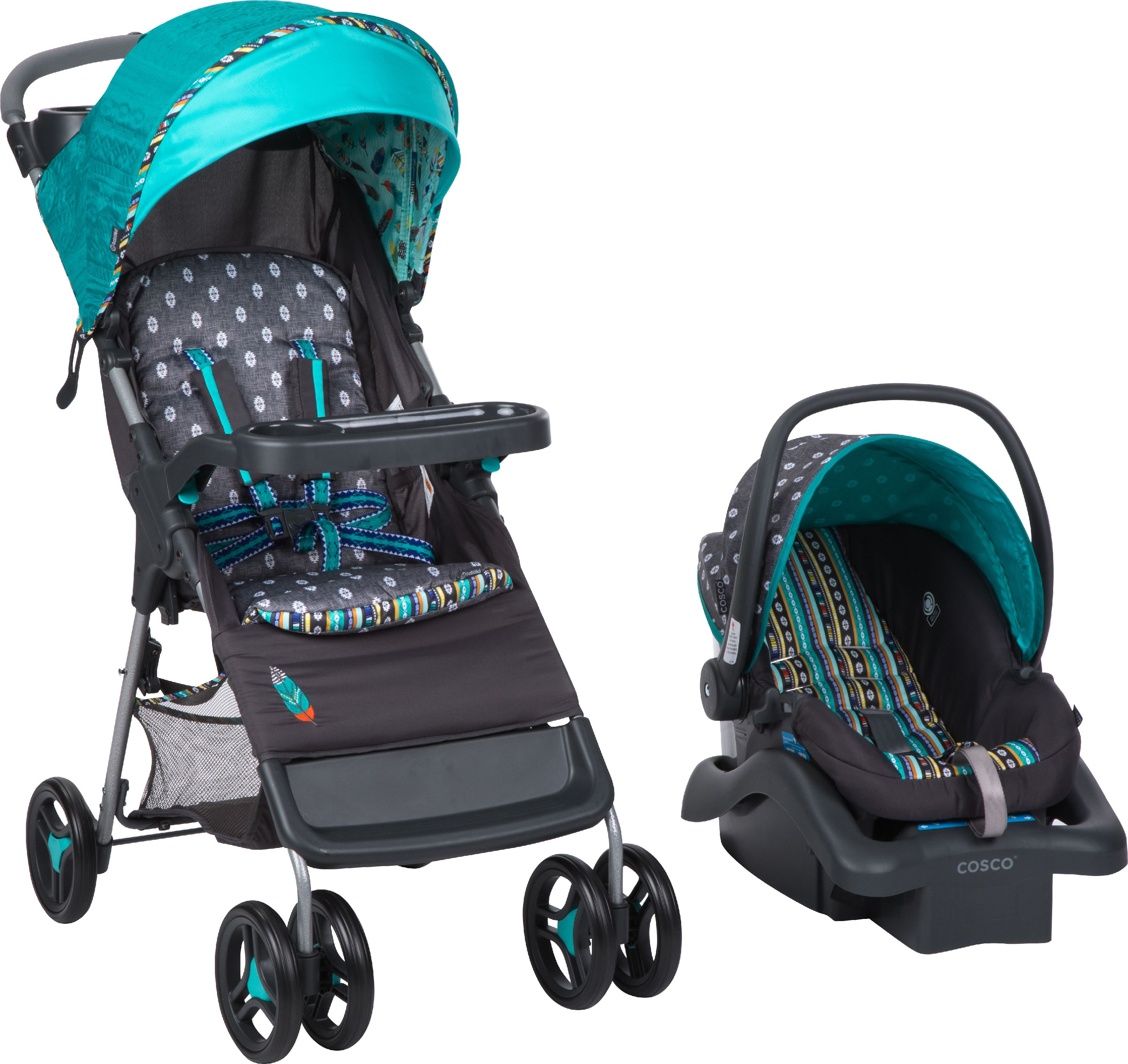 Babideal Bloom Travel System, Feather Boho by Babideal