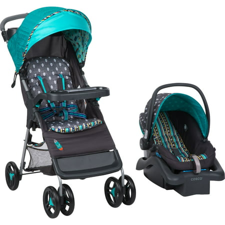 Babideal Bloom Travel System, Feather (Best Bali Travel Systems)