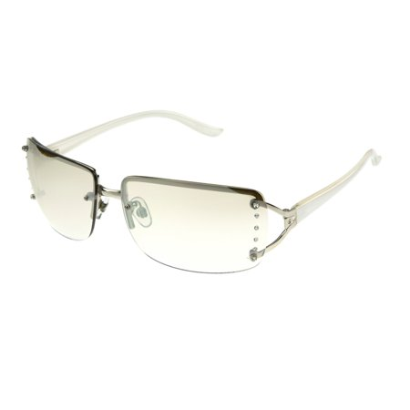 Foster Grant Women's Silver Shield Sunglasses (Clubround Sunglasses)