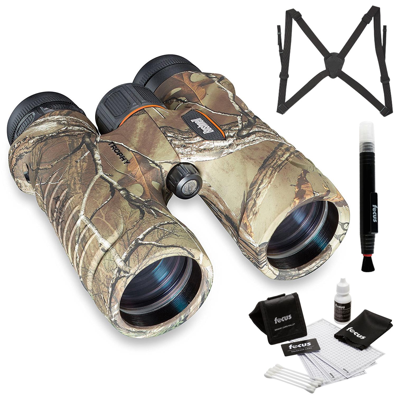 Bushnell 8x42mm Trophy XLT Binoculars (RealTree) with Har...