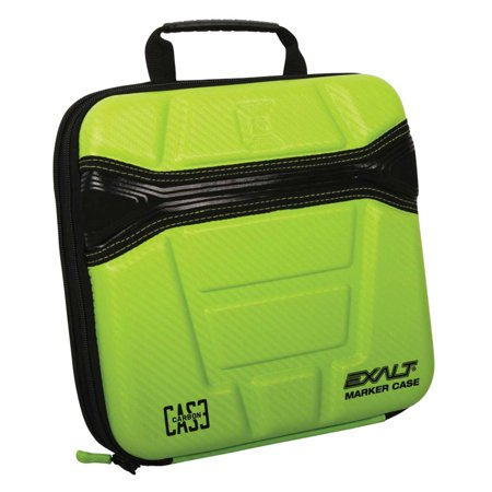 Paintball Marker Gun Case (Exalt Paintball Carbon Series Marker Case / Gun Bag - Lime )