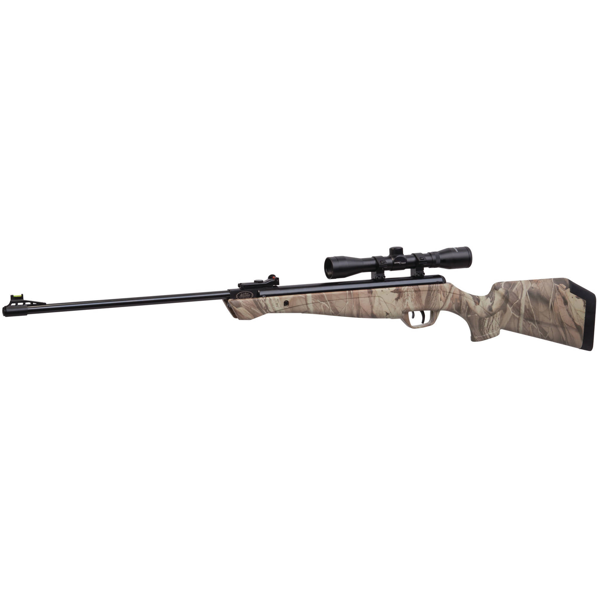 Crosman Phantom Hunter Camo NP .177 Caliber Break Barrel Air Rifle with Scope, 1200fps by Crosman