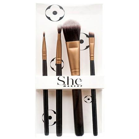 New 366787  Makeup Brush Kit 4 Ct Asst Design (12-Pack) Accessories Cheap Wholesale Discount Bulk Cosmetics Accessories Boys - Wholesale Christmas Accessories